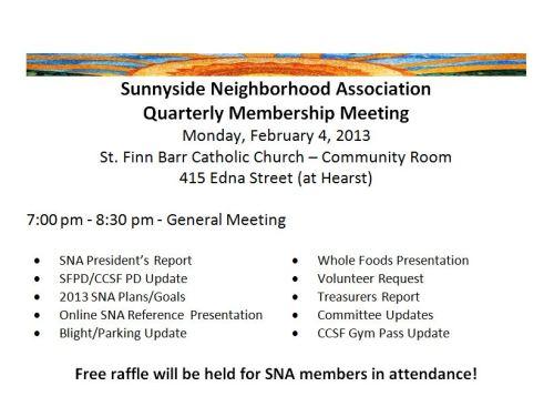 SNA Meeting