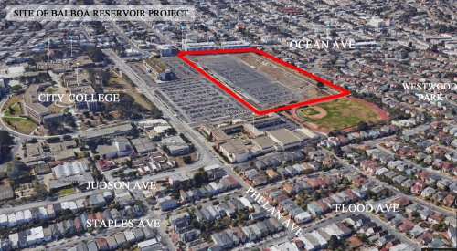 SIte of teh Balboa Reservoir Project. Click for larger: https://sunnysideassociation.files.wordpress.com/2017/05/balboa_reservoir_site_googleearth_2017_05_02.jpg?w=500