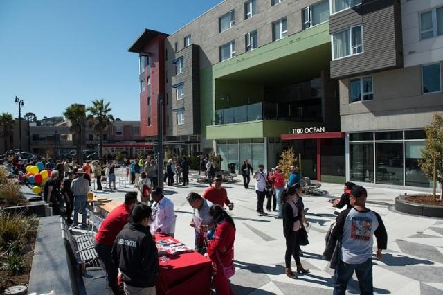 Unity Plaza Opening