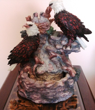 eagle fountain