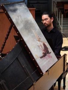 Harpsichordist Arthur Omura. Photo: Friends of Sunnyside Conservatory.
