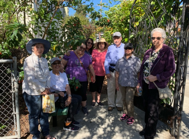 Sunnyside walking group 2019. Photo: Olivia Franco