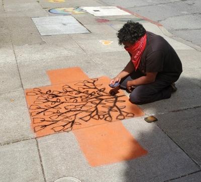 Amar Pai at work, Monterey Blvd. Photo: Lynn Jordan.